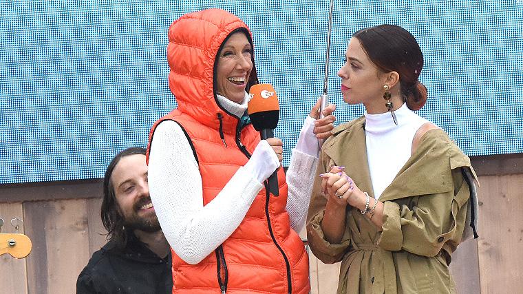 Die große Drei-Länder-Show, Andrea Kiewel, Vanessa Mai