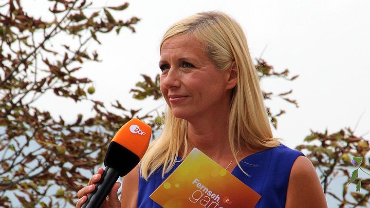 Andrea Kiewel, Fernsehgarten