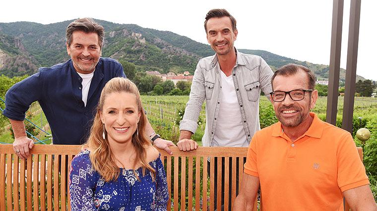 die Gartenparty der Stars, Thomas Anders, Florian Silbereisen, Stefanie Hertel, Karl Ploberger
