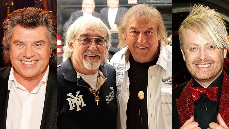 Fernsehgarten, Amigos, Andy Borg, Ross Antony