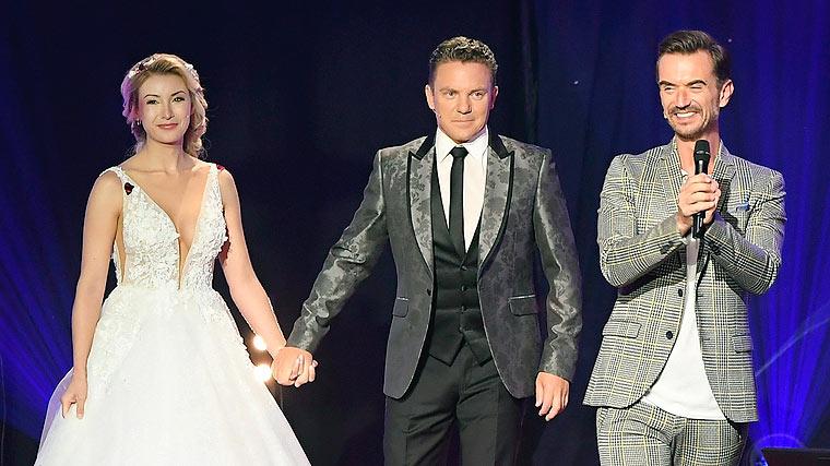 Anna-Carina Woitschack & Stefan Mross Hochzeit bei Florian ...