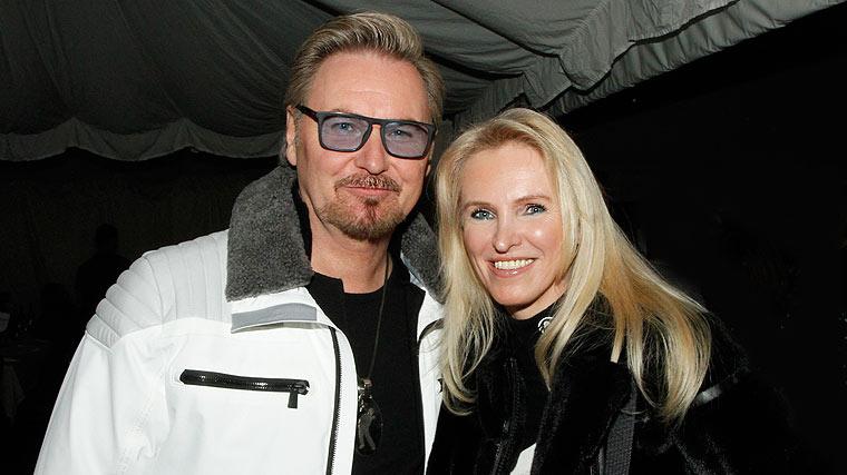 Nik P. und Freundin Karin