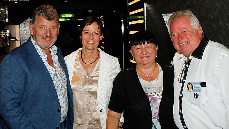 Semino Rossi, Gabi, Ilse und Edi