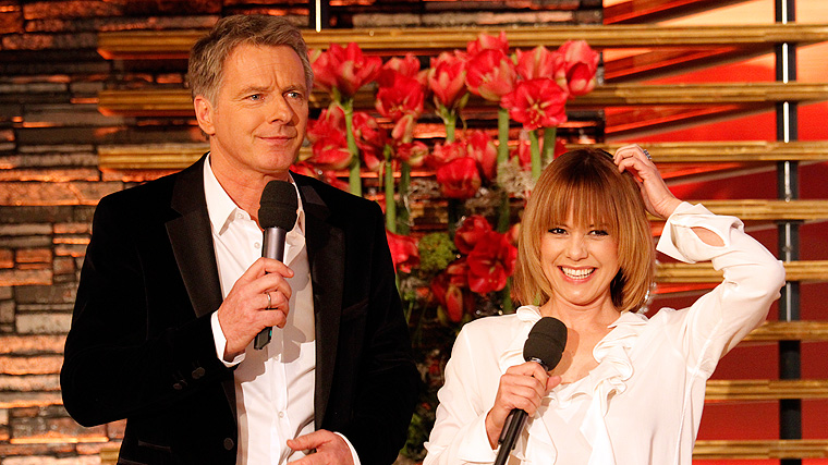 Silvestershow, Jörg Pilawa, Francine Jordi