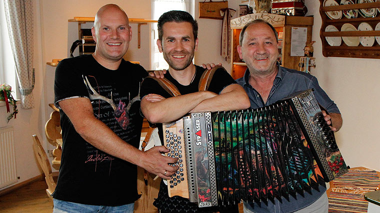 Seer, Jürgen Leitner, Strasser Harmonika - Ernst Strasser, André Zechmann