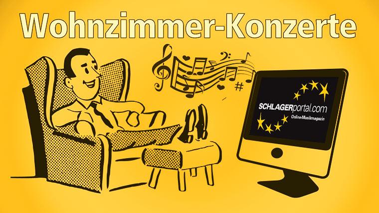 Wohnzimmer Konzerte Schlager Stars