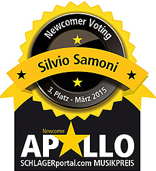 Silvio Samoni, Newcomervoting, Apollo