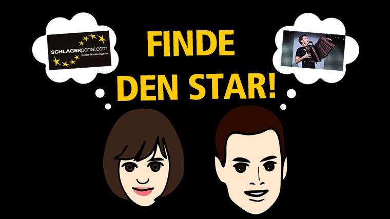 Spiele finde den Star