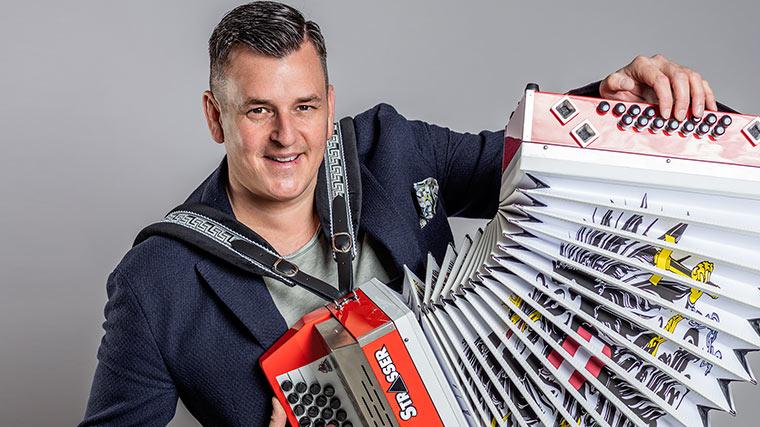 Marc Pircher, Strasser Harmonika