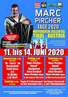 Marc Pircher Tage 2020