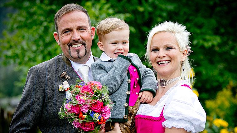 Meissnitzer Band, Christiane und Hans bei ihrer Hochzeit