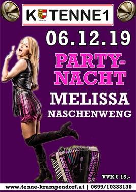 Melissa Naschenweng Partynacht