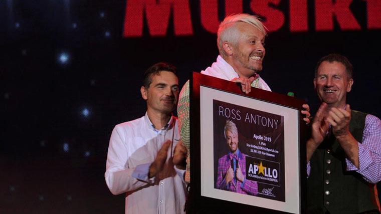 Apollo für Ross Antony in Kitzbühel