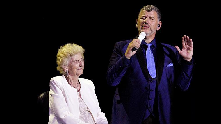 Semino Rossi mit Mama