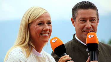 ZDF Fernsehgarten, Andrea Kiewel, Joachim Llambi