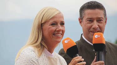 Andrea Kiewel, Joachim Llambi, Fernsehgarten