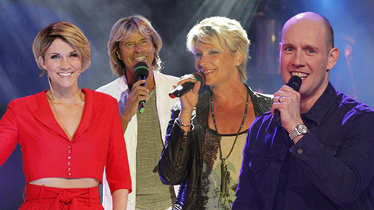 Fernsehgarten, Anna-Maria Zimmermann, Oli P, Hansi Hinterseer, Claudia Jung