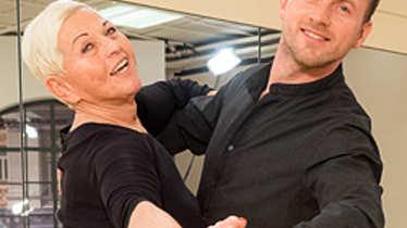 Willi Gabalie und Jazz Gitti bei Dancing Stars