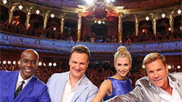 Das Supertalent Jury: Dieter Bohlen, Lena Gercke, Guido Maria Kretschmer, Bruce Darnell