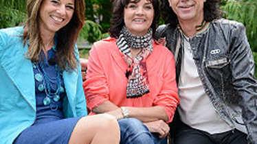 Vera Russwurm, Hilde und Franz Griesbacher von den Paldauern