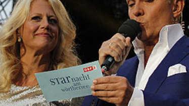 Starnacht am Wörthersee, Barbara Schöneberger, Alfons Haider
