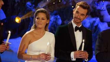 Helene Fischer und Florian Silbereisen beim Adventsfest