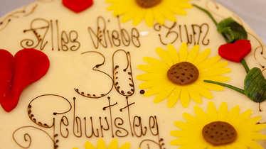 Geburtstagstorte, Geburtstag