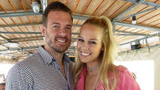 Linda Fäh mit Ehemann