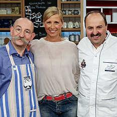 Andrea Kiewel, Horst Lichter, Johann Lafer
