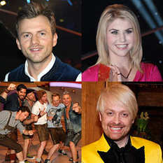 Willi Gabalier, Beatrice Egli, Voxxclub, Ross Antony