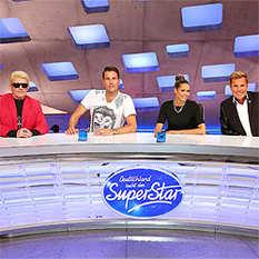 DSDS, Heino, DJ Antoine, Mandy Capristo, Dieter Bohlen