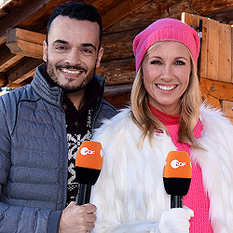 Giovanni Zarrella, Andrea Kiewel, Fernsehgarten