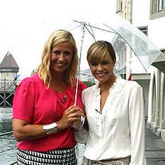 Andrea Kiewel, Francine Jordi, Herbstshow