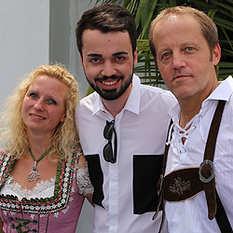 Jonathan Zelter, Sandra und Frank Lenzen