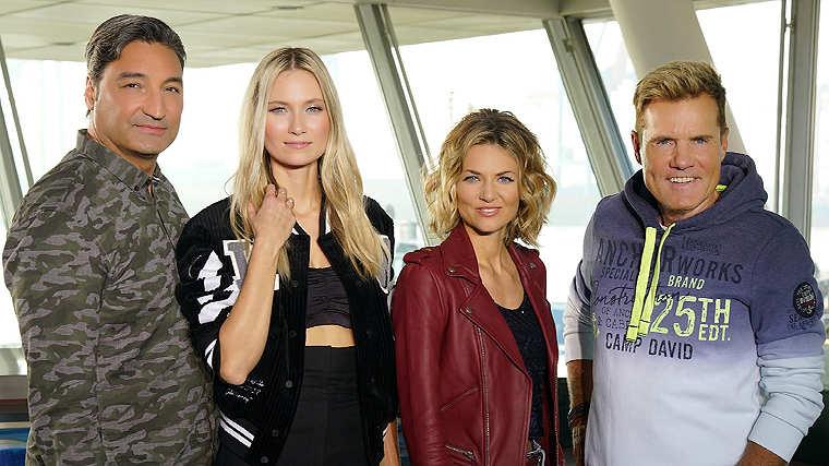 DSDS Jury: Ella Endlich, Carolin Niemczyk, Mousse T. und Dieter Bohlen