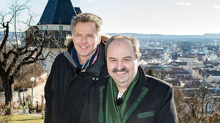 Jörg Pilawa, Johann Lafer, Silvesterstadl