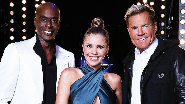 Das Supertalent, Victoria Swarovski, Bruce Darnel,lDieter Bohlen