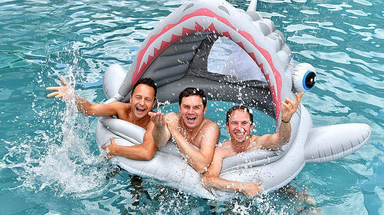 Die jungen Zillertaler, Obercool im Haifischpool