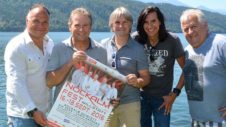 Nockalm Quintett feiert Nockalmfest