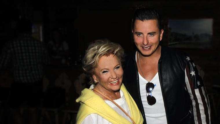 Rosi Schipflinger mit Andreas Gabalier