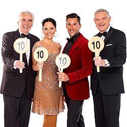 Dancing Stars, Nicole Burns-Hansen, Balázs Ekker, Hannes Nedbal, Thomas Schäfer-Elmayer