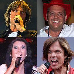 Fernsehgarten, Mickie Krause, Markus Becker, Antonia aus Tirol, Jürgen Drews