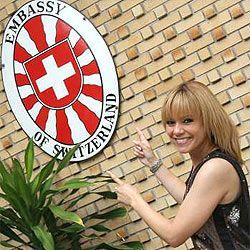 Francine Jordi in Bangkok