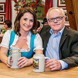 Eva Köck und Volksoperndirektor Robert Meyer