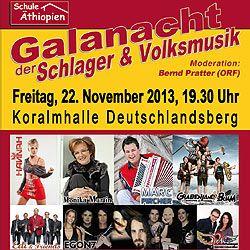 Galanacht der Schlager und Volksmusik Deutschlandsberg