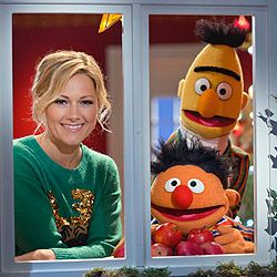 Helene Fischer, Ernie, Bert, Sesamstraße