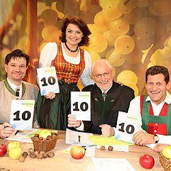 Caroline Koller, Karl Lenz, Franz Posch und Sepp Strunz