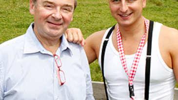 Sepp Adlmann, Andreas Gabalier