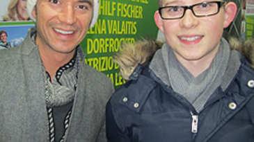 Marquardt Petersen mit Florian Silbereisen