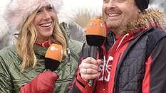 Andrea Kiewel, Ross Antony, Fernsehgarten